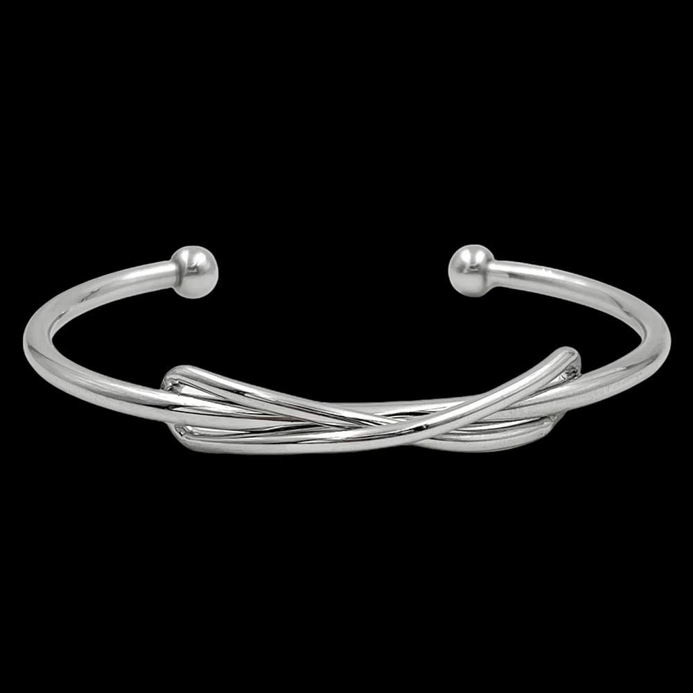 Bracelete Infinity Silver