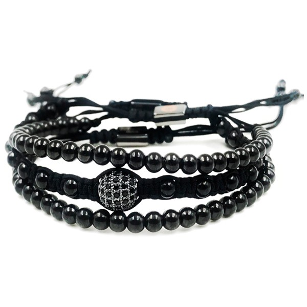 Combo Kit Macrame Black Luxe