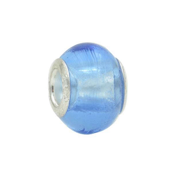 Murano Pandora Inspired Azul Piscina