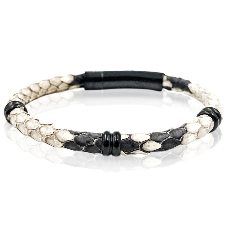 Pulseira Single Python White