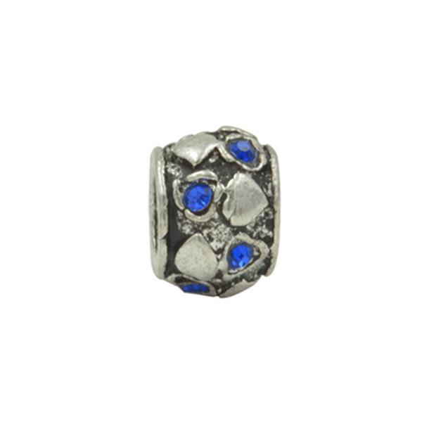 Separador Pandora Inspired Brilho Brilhante  Azul