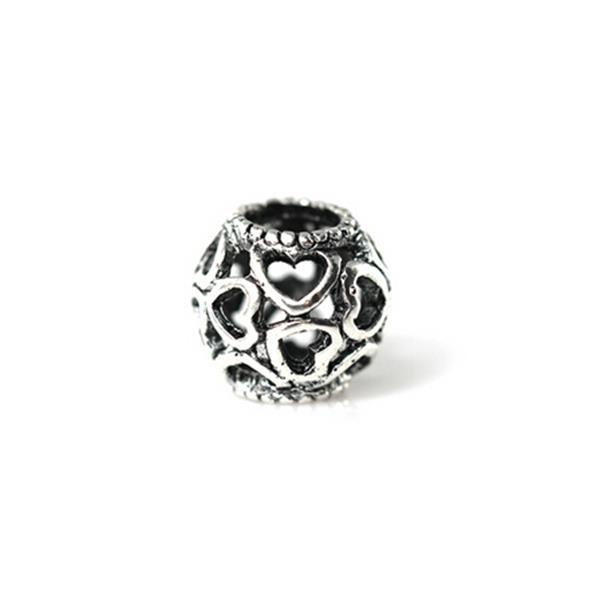 Separador Pandora Inspired  Coração Vazado