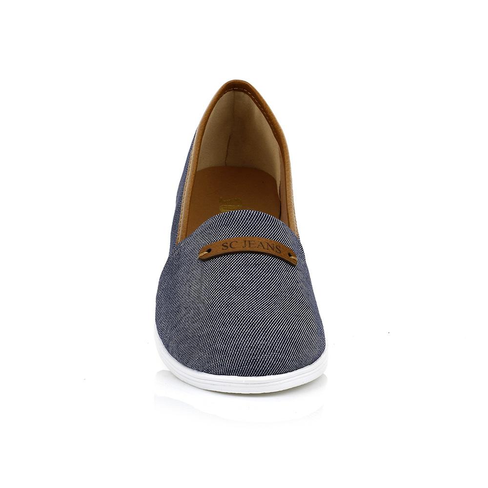 Sapatilhas Alpargatas Jeans Marinho Sua Cia 10883