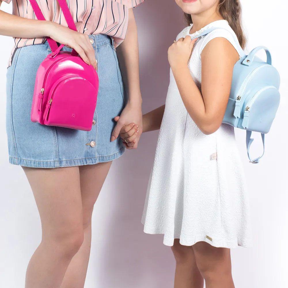 Bolsa Mini Mochila Little Petite Jolie PJ4406 - Záten