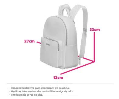 Bolsa Mochila Kitbag Básica Petite Jolie PJ2032 - Záten PROMOÇÃO