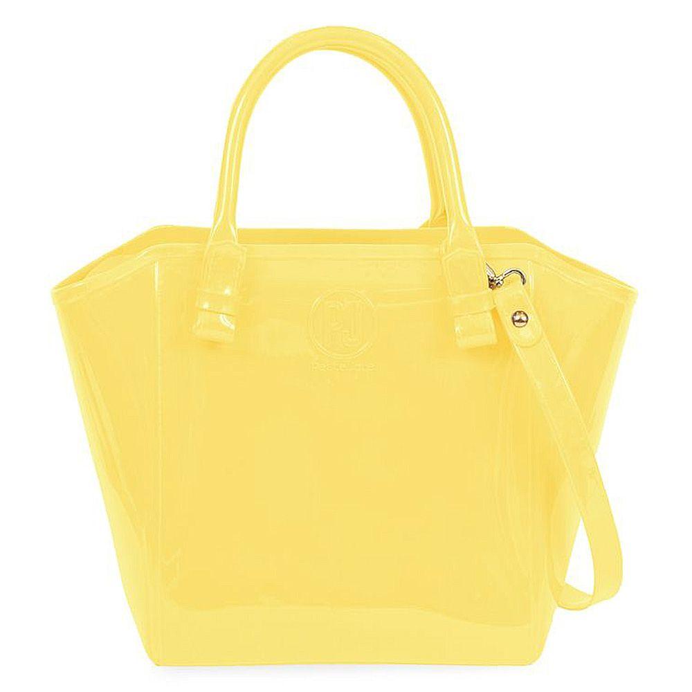 Bolsa Shopper Amarela Petite Jolie PJ1770