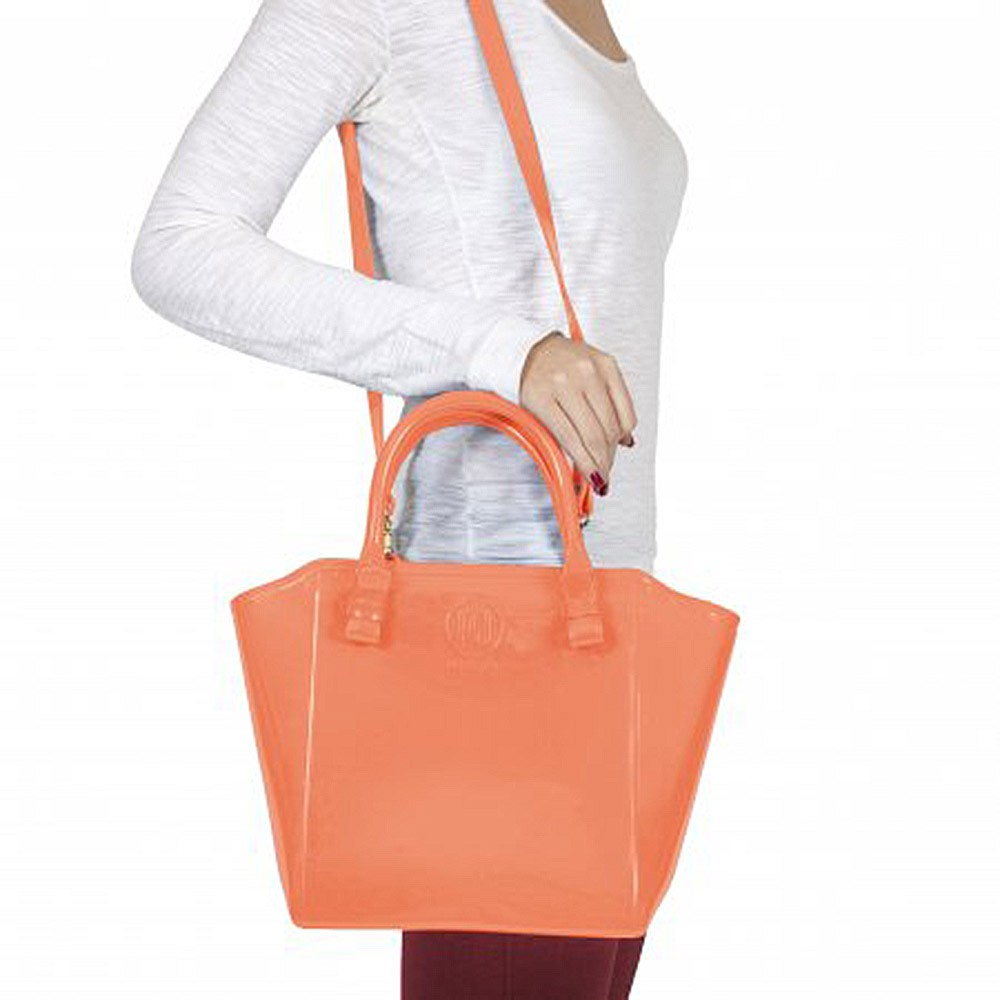 Bolsa Shopper Laranja Petite Jolie PJ1770