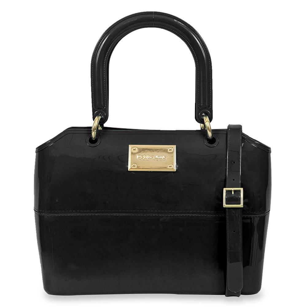 Bolsa Zip Bag Preta Petite Jolie PJ1855