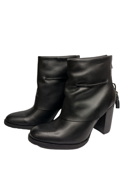 Bota Ankle Boots de Couro TH Shoes 3052.9801 - Záten