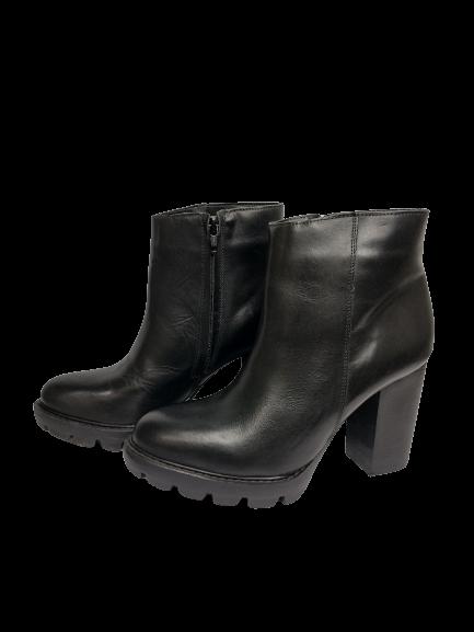 Bota Ankle Boots Tratorada 0950.1001 TH Shoes - Záten