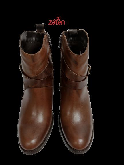 Bota de Couro 3050.46312 TH Shoes - Záten