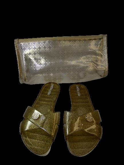 Rasteira Kit Flip Flop Petite Jolie Pj 4786 - Záten