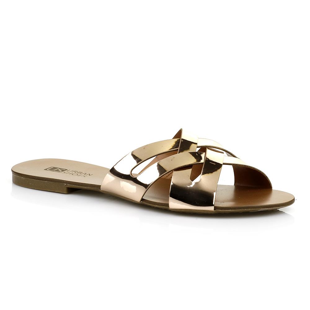 Rasteira Specchio Rose Urban Shoes 738