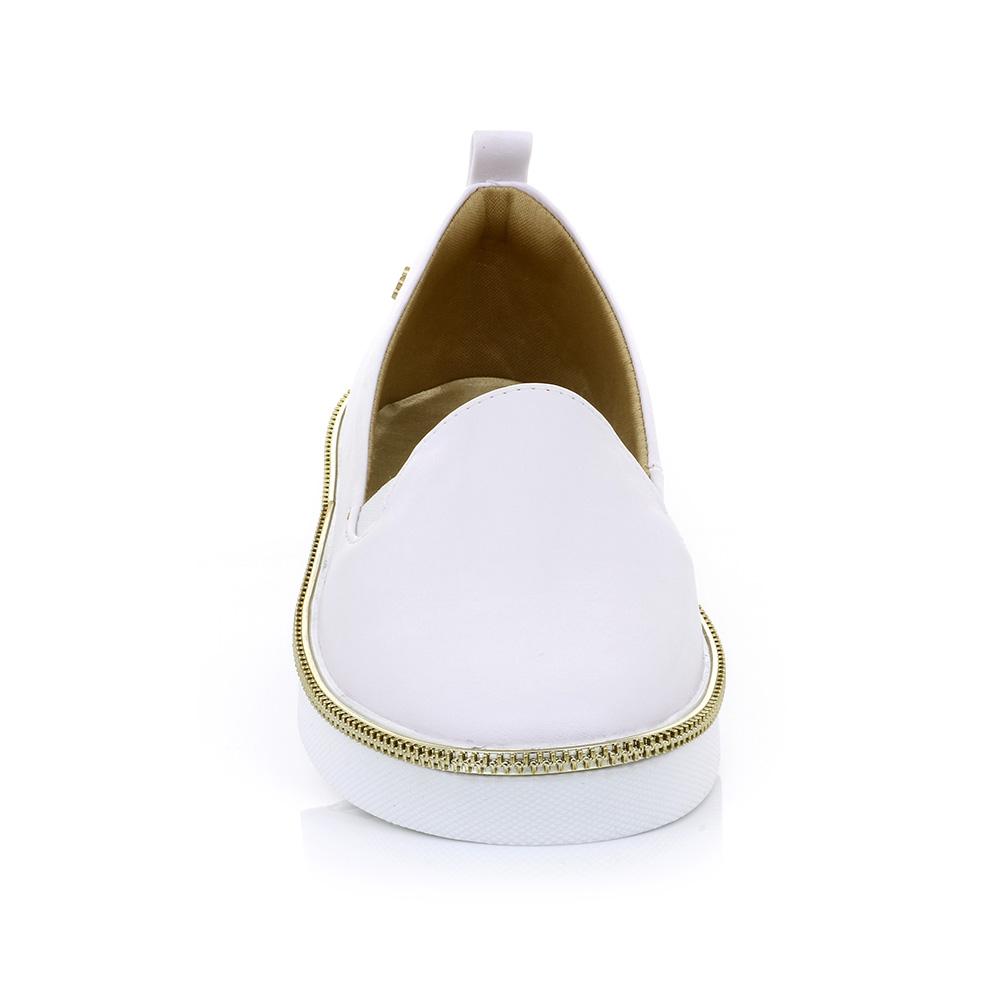 Tênis Slip On Branco Petite Jolie PJ1546
