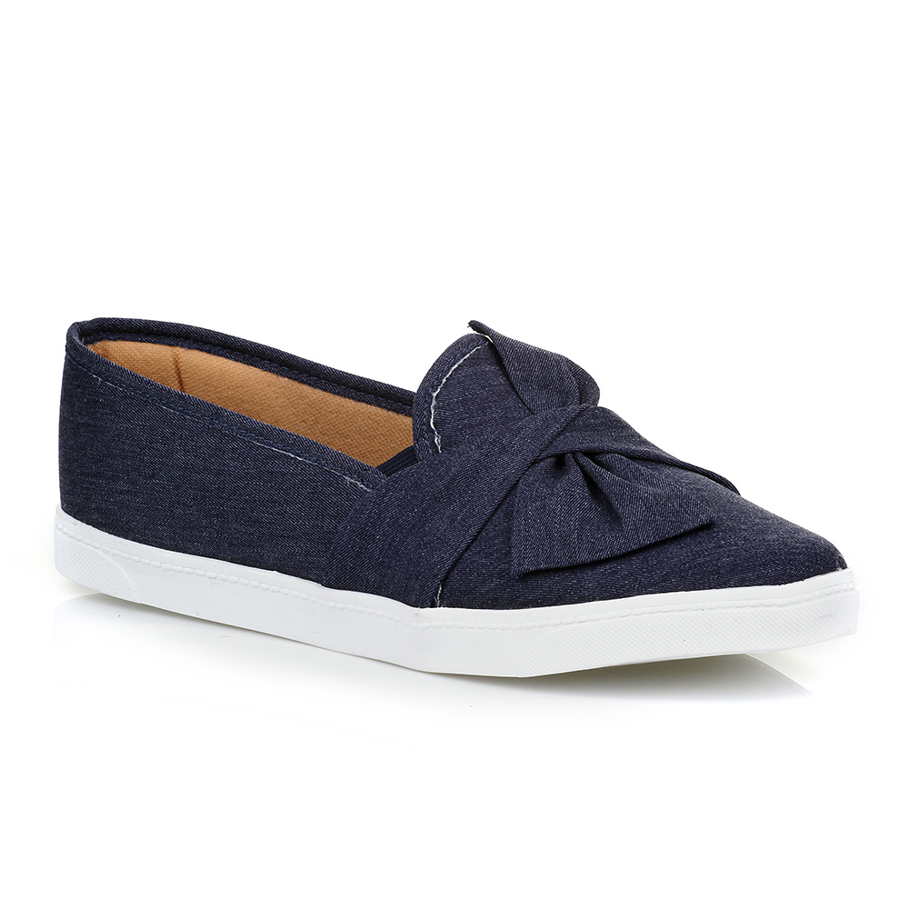 Tênis Slip On Jeans Urban Shoes 01T