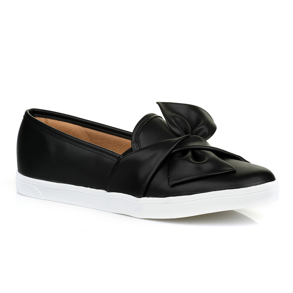 Tênis Slip On Preto Urban Shoes 01T