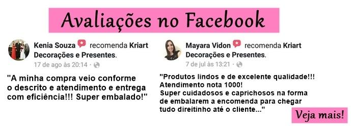 Avaliações no Facebook