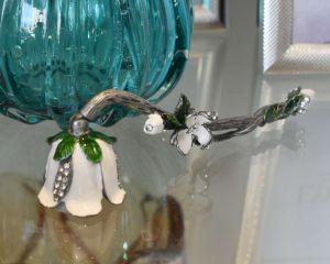 Apagador De Vela Flor Branca - 53849