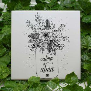 Azulejo Decorativo Calma Na Alma - 58689