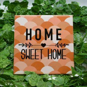 Azulejo Decorativo Home Sweet Home Colorido - 58688