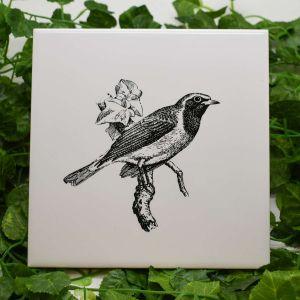 Azulejo Decorativo Pássaro - 58665