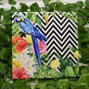 Azulejo Decorativo Pássaro Tropical - 58666