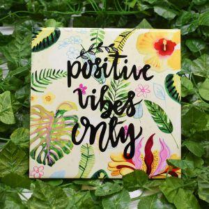 Azulejo Decorativo Positive Vibes - 58668