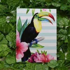 Azulejo Decorativo Tropical Tucano - 58686