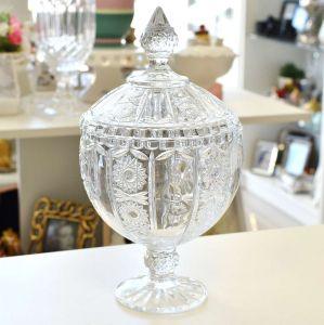 Bomboniere Com Pé De Cristal Belle 28,5cm – 56501