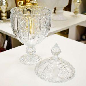 Bomboniere Com Pé De Cristal Belle 32cm - 56502