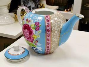 Bule Azul Floral Pip Studio - 55695