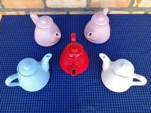 Bule Café Chá 800ml Cerâmica Esmaltada Div. Cores 52857