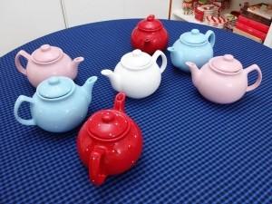 Bule Chá Café Leite 700 Ml Cerâmica Diversas Cores - 10154