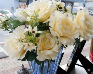 Buque De Rosas Champanhe X15 - 58160