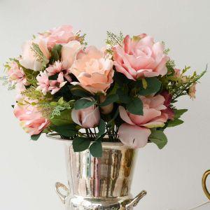 Buque De Rosas Cor De Rosa X15 - 57420