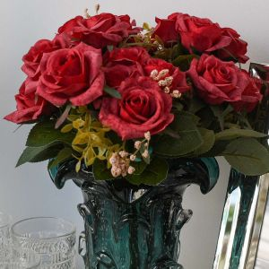 Buque De Rosas Vermelhas Com 09 - 57430