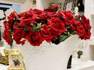 Buquê Mini Rosas Com Botão Vermelha - 58715