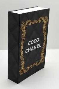 * Caixa Livro Chanel - 58882