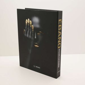 Caixa Livro Ébano Preta Book Box - 58789