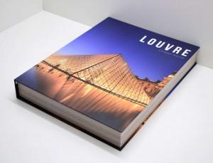 * Caixa Livro Louvre- 58967