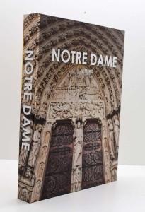 * Caixa Livro Notre Dame -58780
