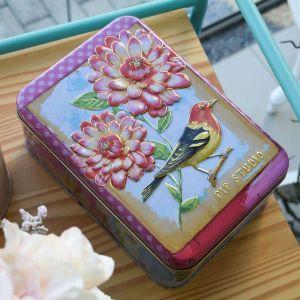 Caixa Retangular Pequena Floral Pip Studio - 58179