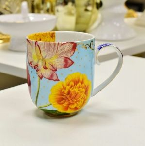 Caneca Grande Flowers Royal Pip Studio - 55001