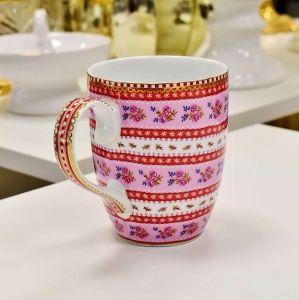 Caneca Grande Rosa Ribbon Floral - 54930