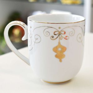 Caneca Pendant Grande 325ml Natal Royal Christmas Pip Studio - 57374