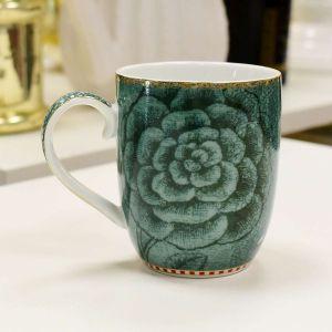 Caneca Pequena Flower Verde Pip Studio - 56525