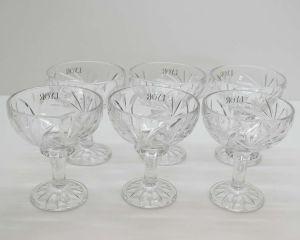 Cj. 06 Taças Para Sobremesa De Cristal Prima 260ml - 58421