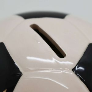 Cofre Bola De Futebol Grande Em Cerâmica - 57750