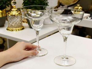 Conjunto 02 Taças Para Margarita 330ml Vidro Transparente - 56950