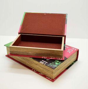 Conjunto Com 02 Caixa Livro Decorativo Retro Vintage For Attractive Lips Speak - 57861